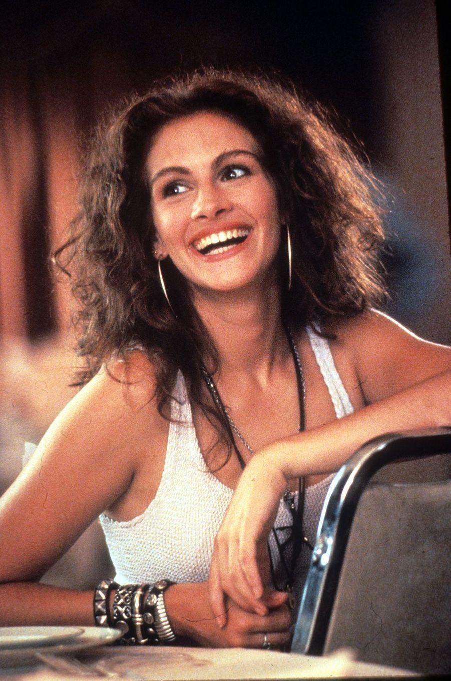 """Julia Roberts dans """"Pretty Woman"""", 1990."""