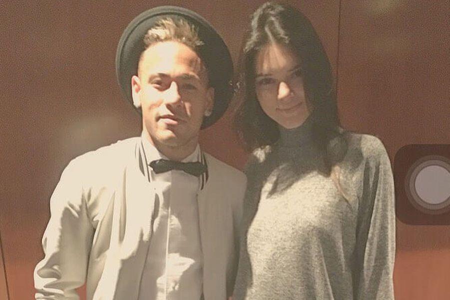 Neymar et Kendall Jenner.
