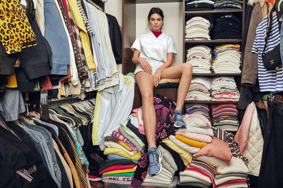 Kendall Jenner dévoile son incroyable dressing pour adidas