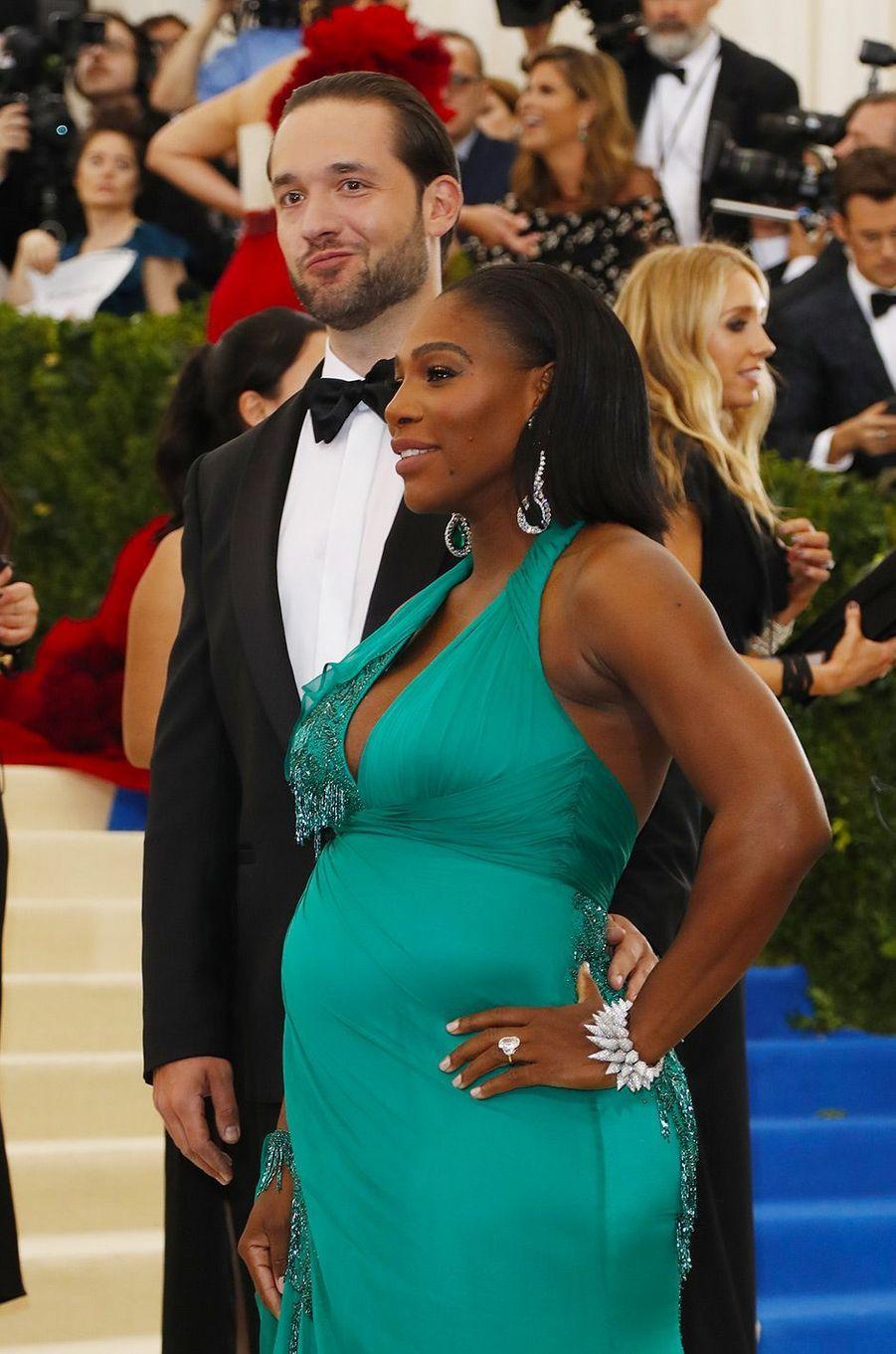 Serena Williams et son mari au MET Gala 2017