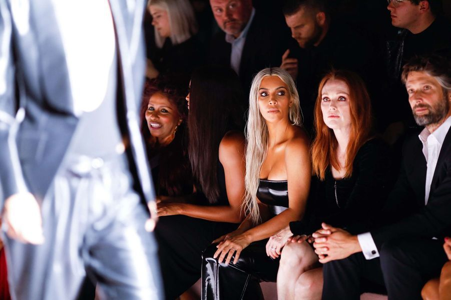 Kim Kardashian lors du défilé Tom Ford.