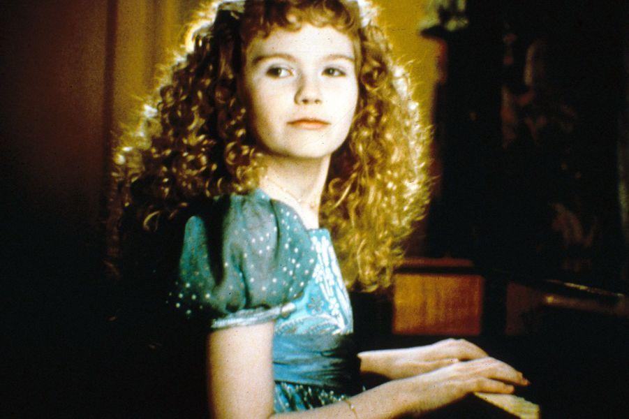 """Kirsten Dunst dans """"Entretien avec un vampire"""" en 1994."""
