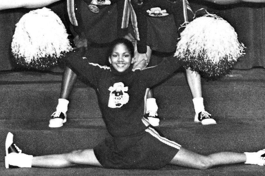 Halle Berry en 1980.