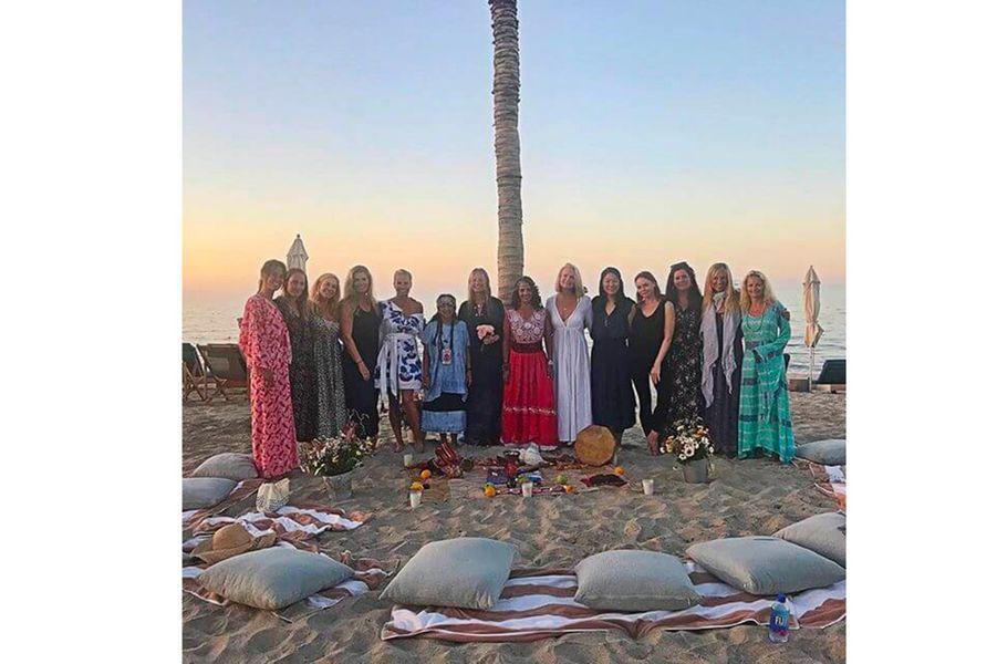 Gwyneth Paltrow et ses amis à Cabo San Lucas (Mexique) pour son enterrement de vie de jeune fille