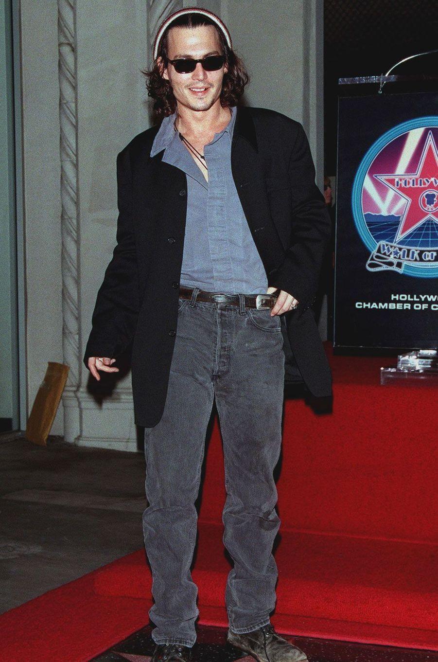 Johnny Depp en 1990