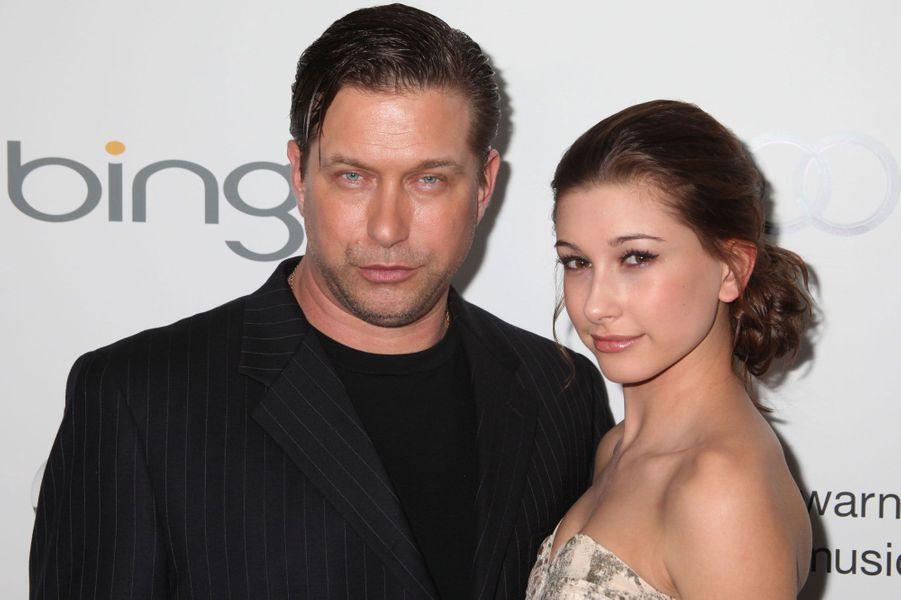 Stephen Baldwin et sa fille Hailey en 2011