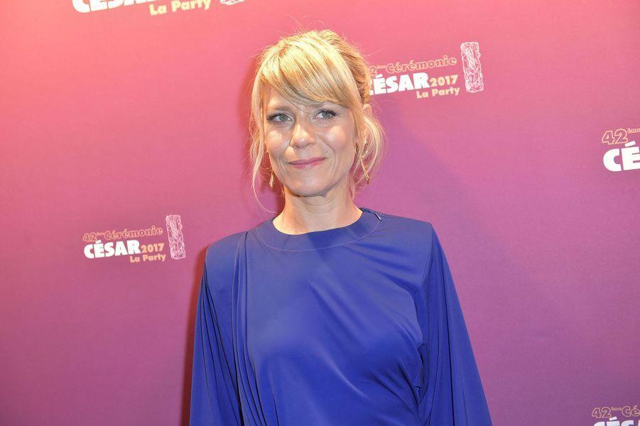 Marina Foïs lors de l'after party des César 2017.
