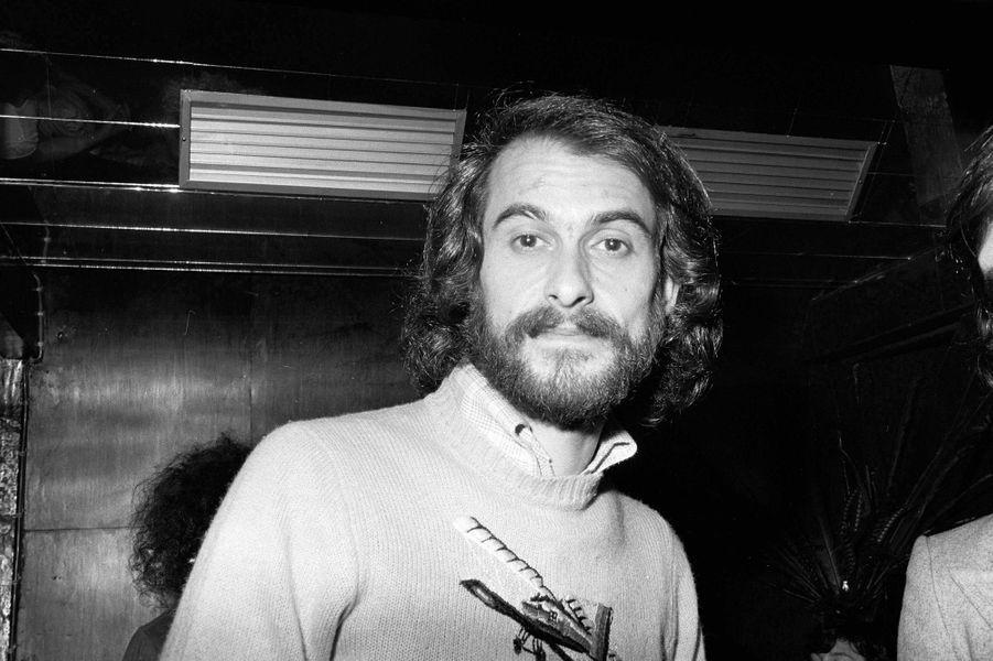 Michel Fugain en 1974.