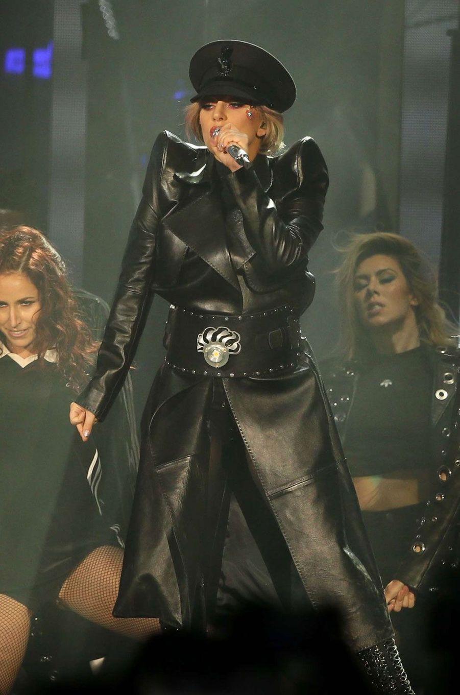 La chanteuse Lady Gaga.