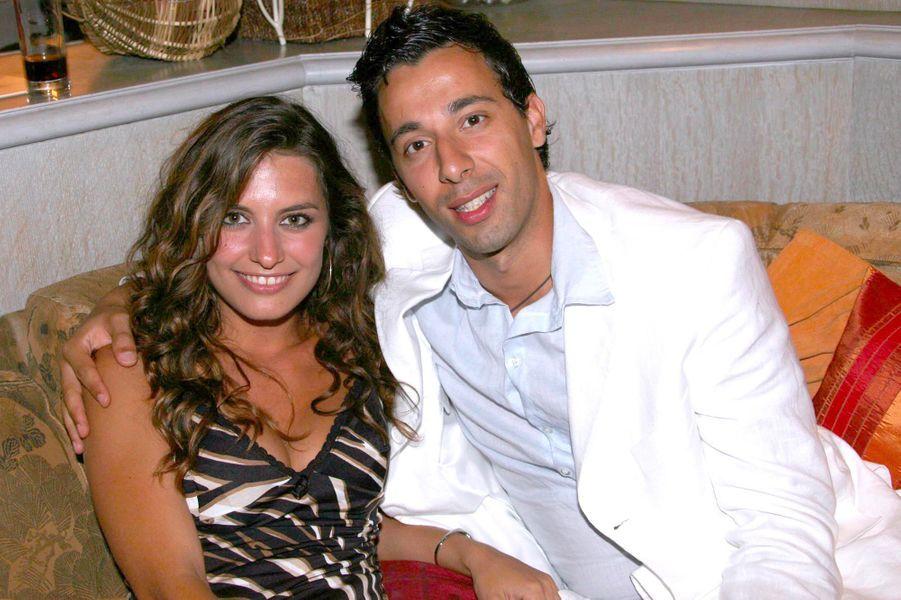 Laetitia Milot et son mari Badri en juin 2007