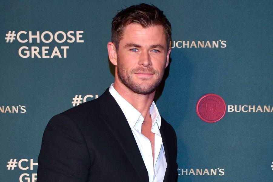 Chris Hemsworth (Mexico, 11 novembre 2017)
