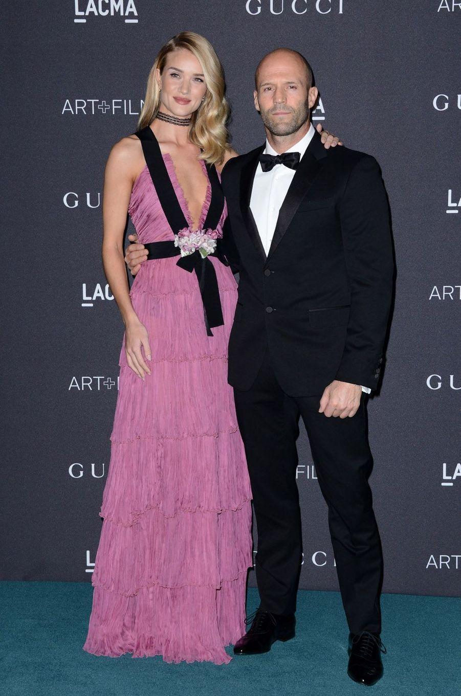 Jason Statham et Rosie Huntington ont accueilli un petit Jack en juin 2017.