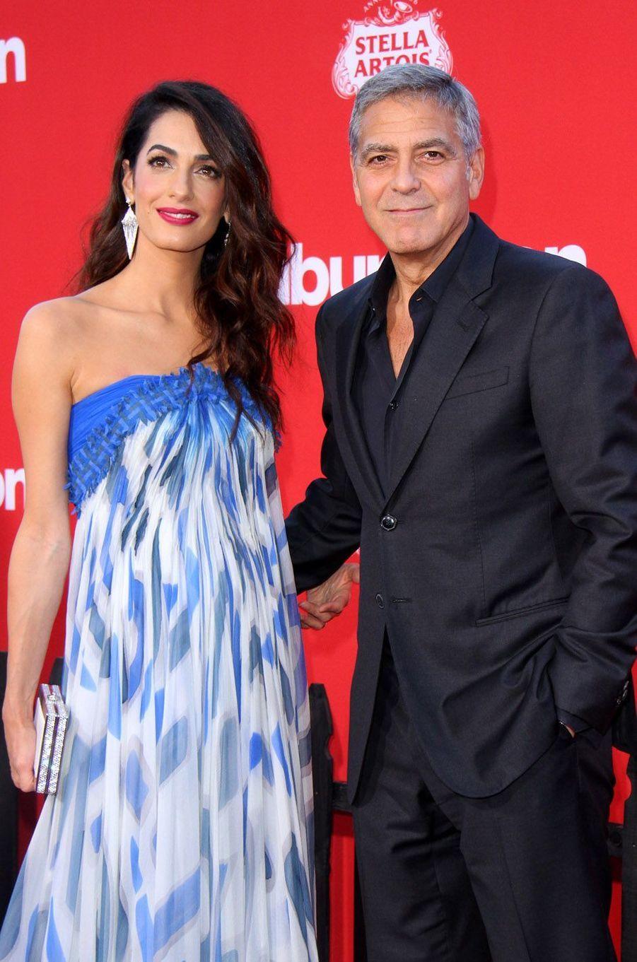 George et Amal Clooney ont accueilli les jumeaux Ella et Alexander en juin 2017.