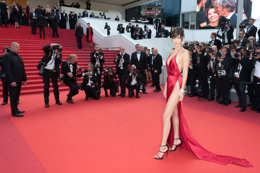 Bella Hadid au Festival de Cannes
