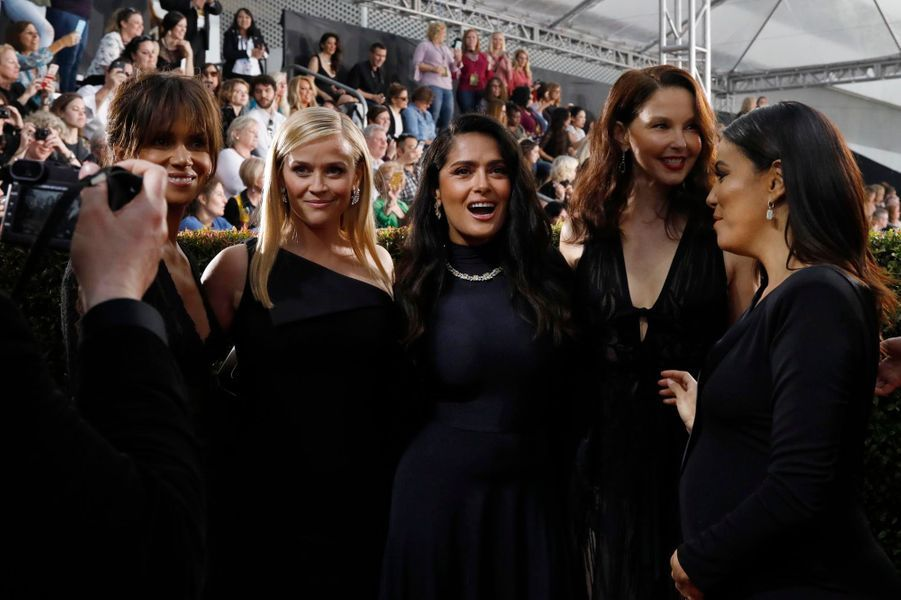Halle Berry, Reese Witherspoon, Salma Hayek, Ashley Judd and Eva Longoria