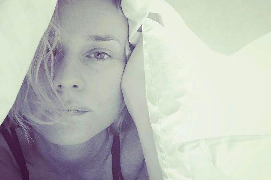 Diane Kruger sans maquillage