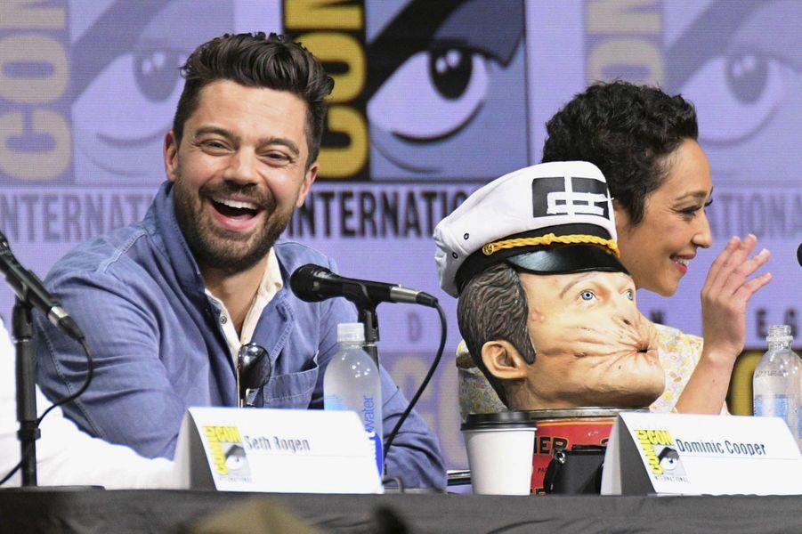 Dominic Cooperlors du Comic Con de San Diego.