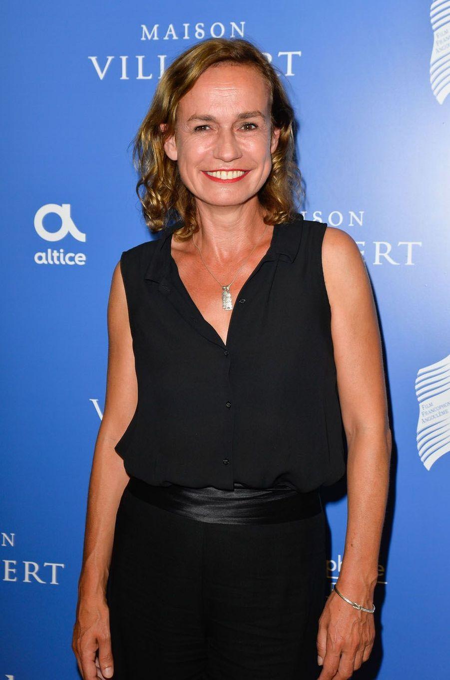 Sandrine Bonnaireau festival du film francophone d'Angoulême, le 27 août 2017.