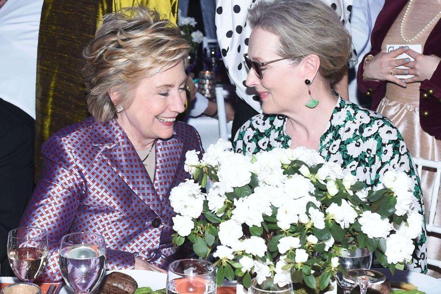 Hillary Clinton et Meryl Streep.
