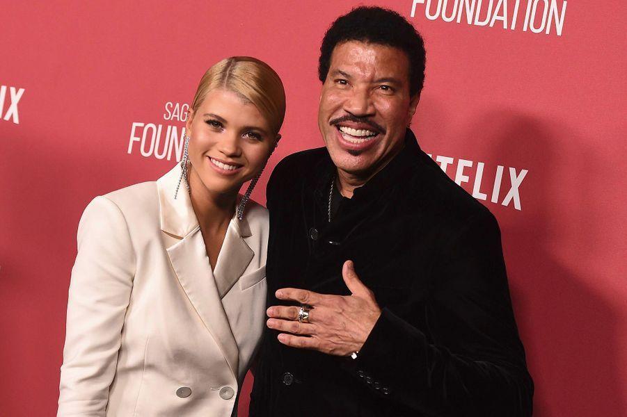 Lionel Richie et sa fille Sofia
