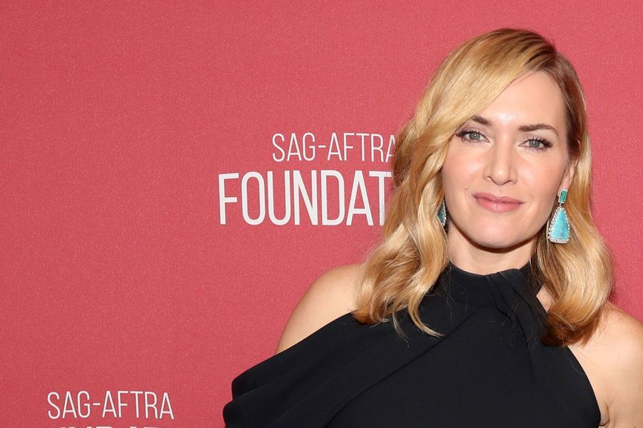 Kate Winslet à la soirée des SAG- AFTRA Foundation's Patron of the Artists Awards à Los Angeles, le 9 novembre 2017.