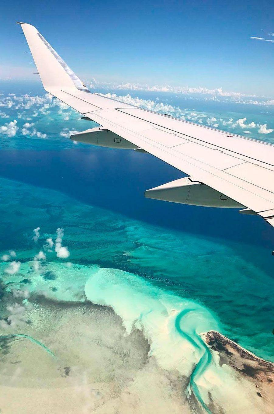 Natali Husic et Louis Sarkozy sont en vacances aux Bahamas