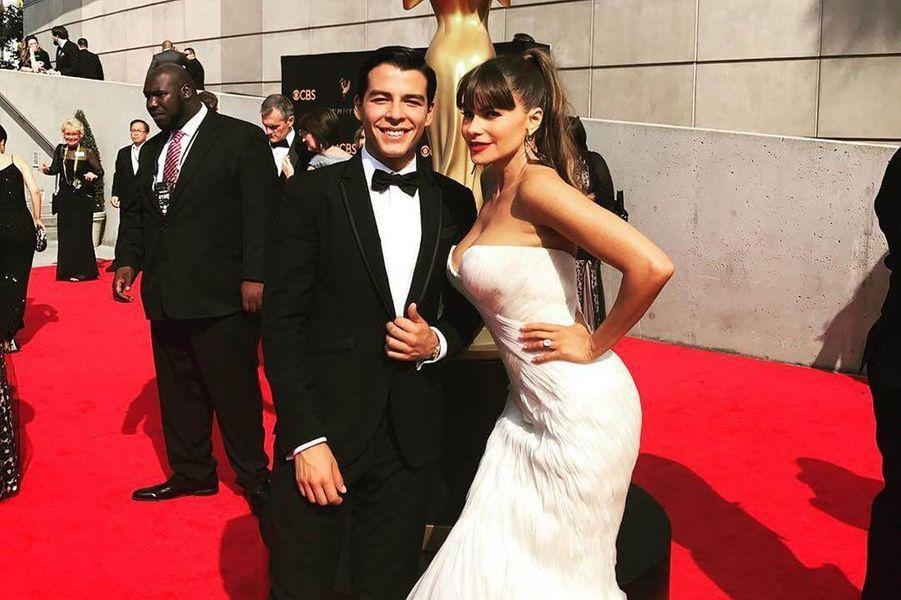 Manolo Gonzalez, le fils de Sofia Vergara, débarque sur la planète mode