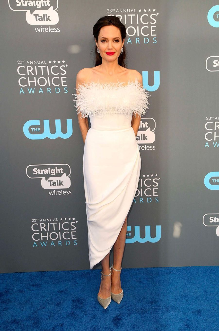 Angelina Jolie dans une robe Ralph and Russo