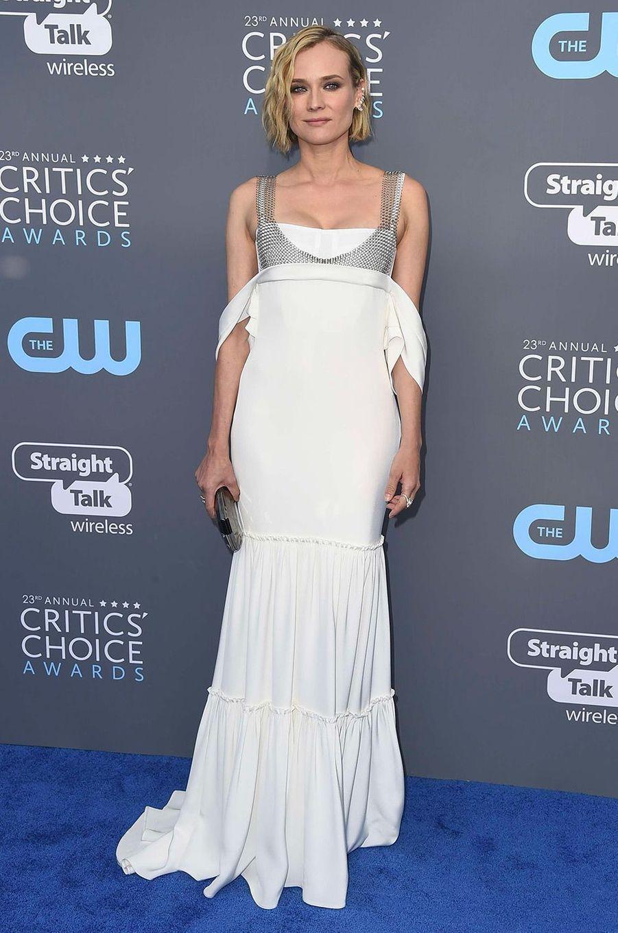 Diane Kruger dans une robe Vera Wang