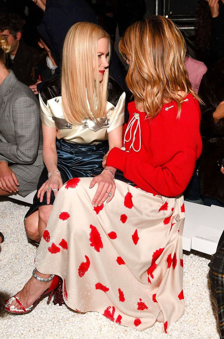 Nicole Kidman, Laura Dern au défilé Calvin Klein