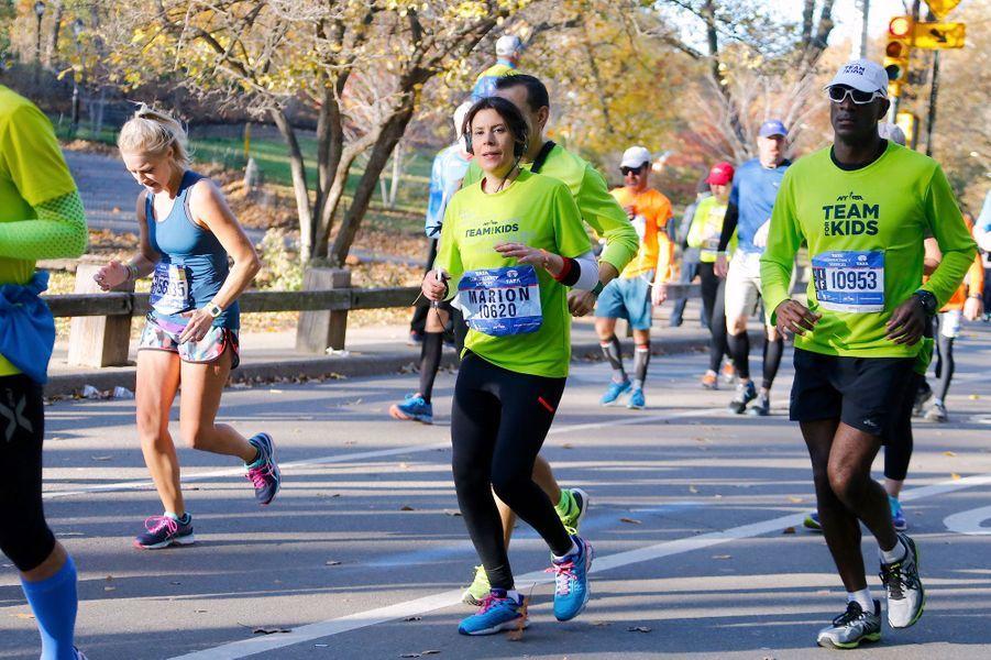 Marion Bartoli a couru les 42 kilomètres du marathon