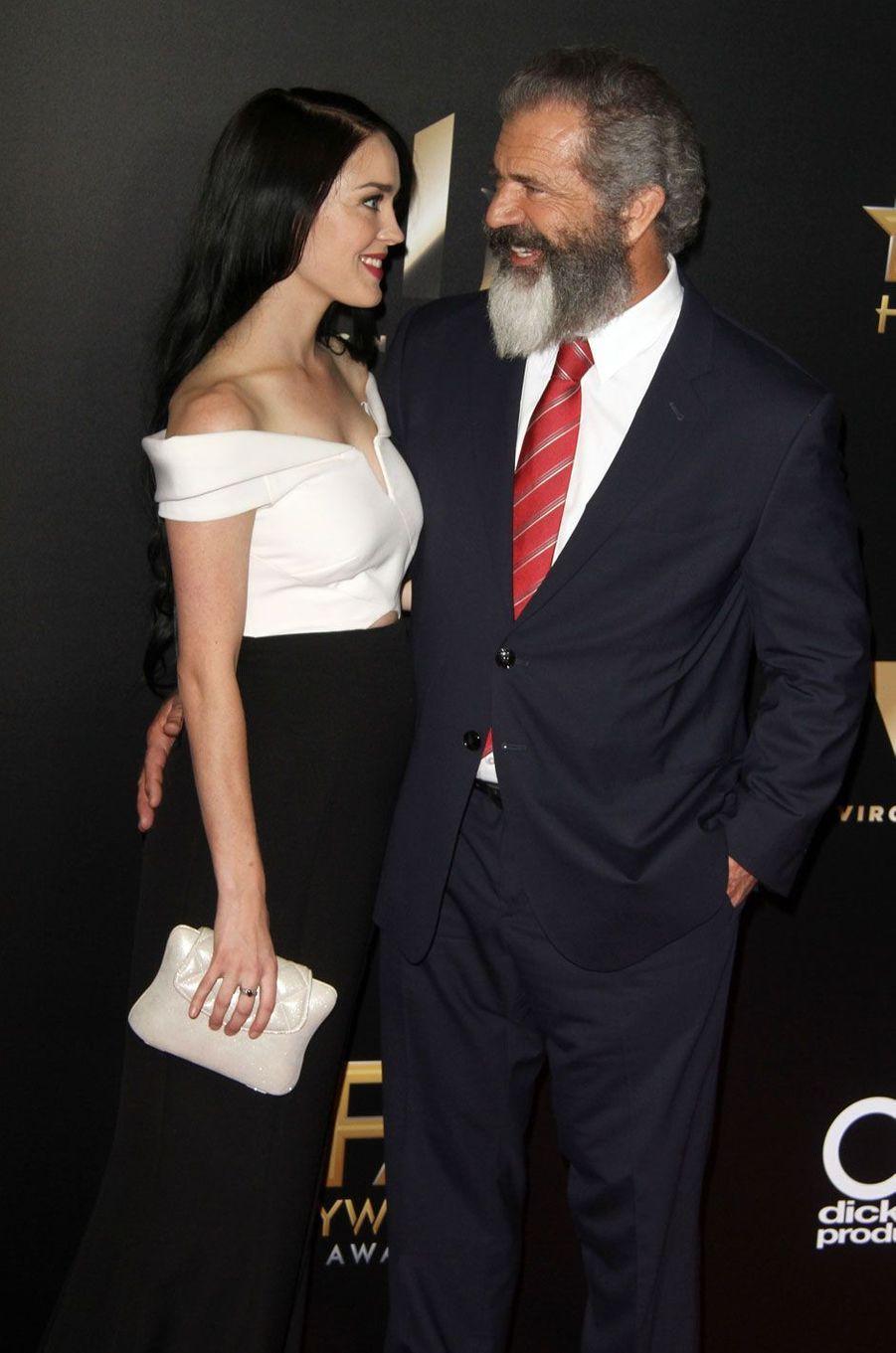 Mel Gibson et sa femme Rosalind Ross