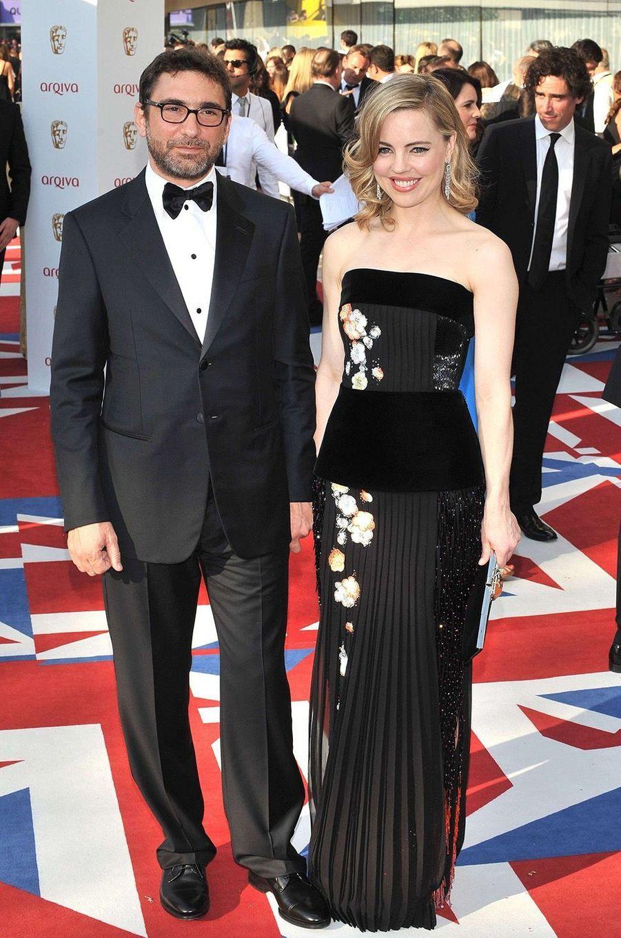 Melissa George et Jean-David Blanc en 2012.