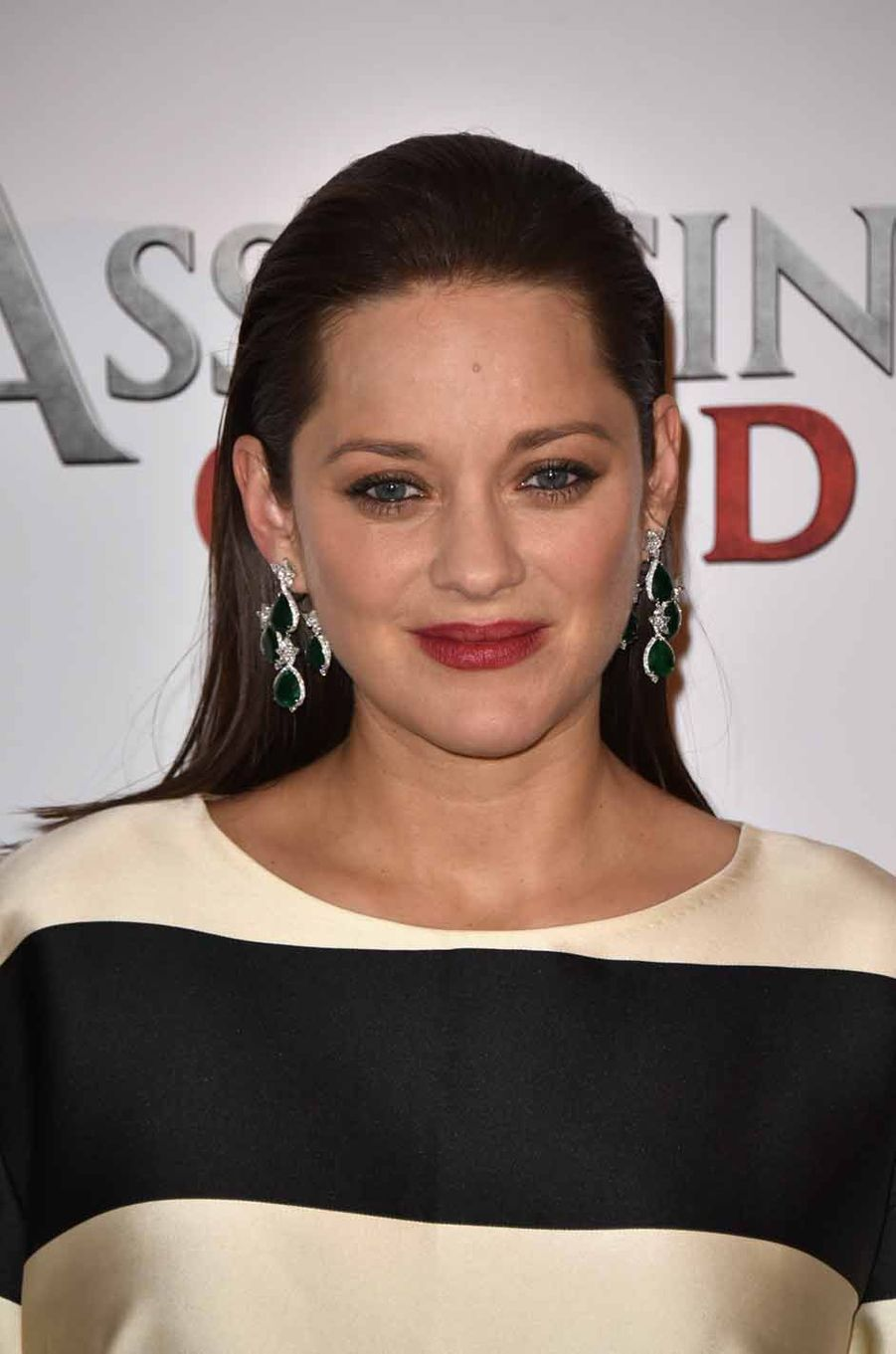 Marion Cotillard en promotion à Paris pour «Assassin's Creed».