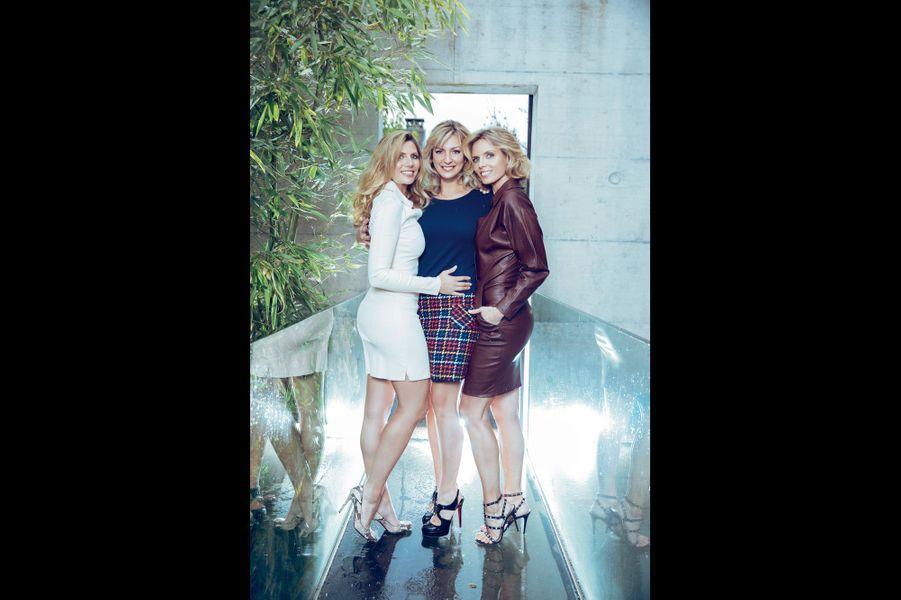 Trois sœurs très proches: Stéphanie, 43 ans, Anne-Sophie, 36 ans, Sylvie, 39 ans.