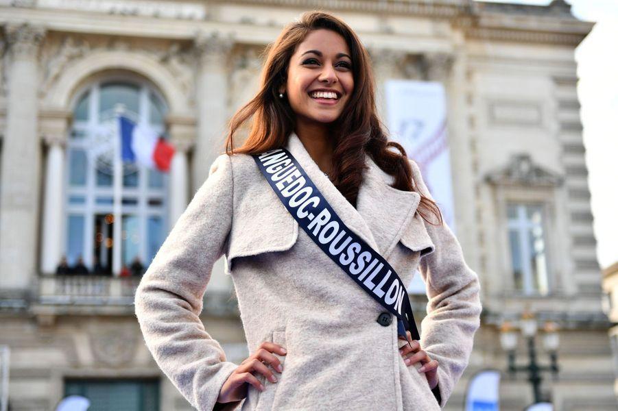 Aurore Kichenin, le 3 décembre 2017 à Montpellier.