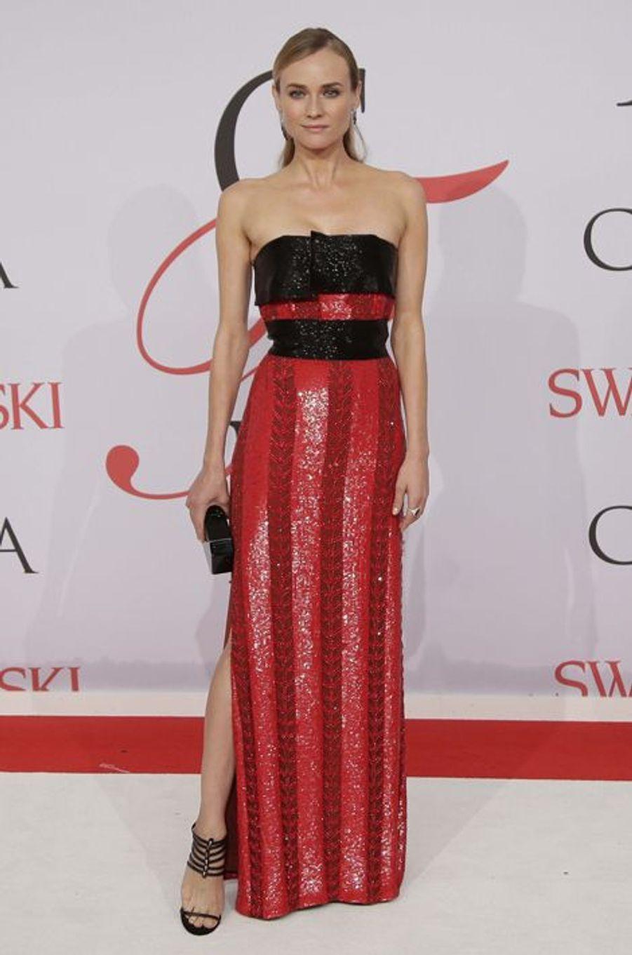 Diane Kruger à New York le 1er juin 2015