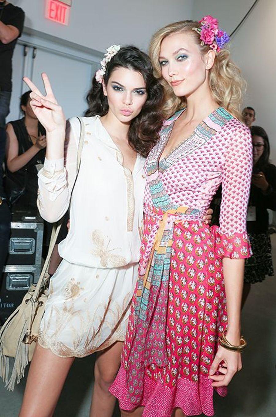Kendall Jenner et Karlie Kloss