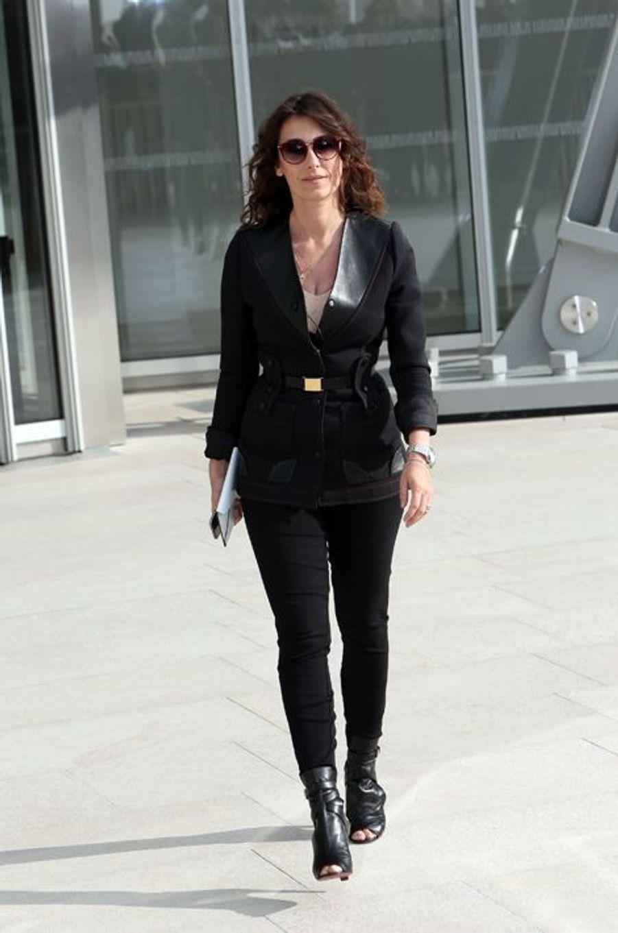 Mademoiselle Agnès au défilé Louis Vuitton
