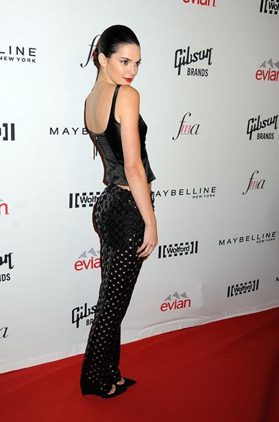Aux Fashion Media Awards à New York le 5 septembre 2014