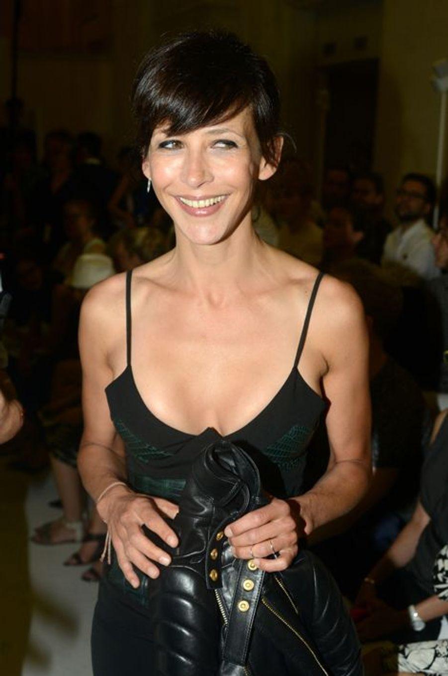 Sophie Marceau à Paris le 7 juillet 2015