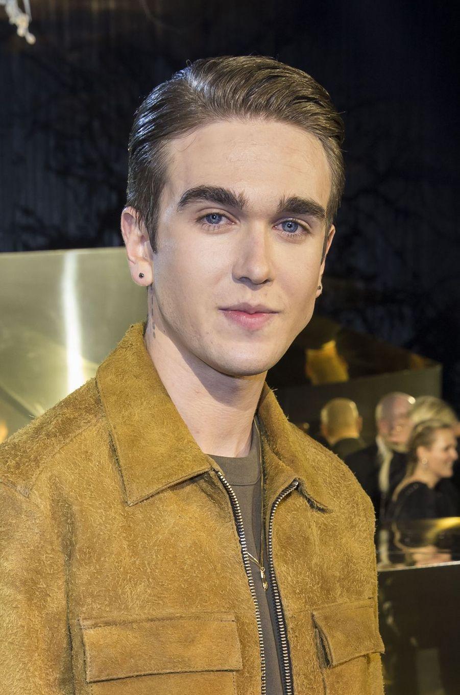 Gabriel-Kane Day-Lewis à Paris le 2 mars 2016
