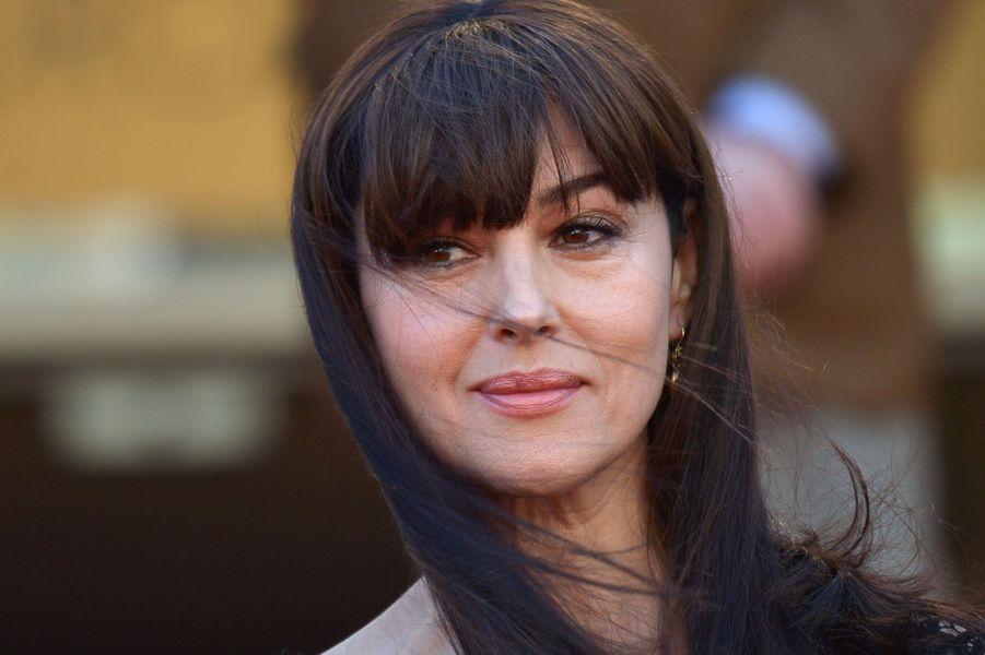 """Monica Bellucci présente à Cannes en 2014 """"La Meraviglie""""."""