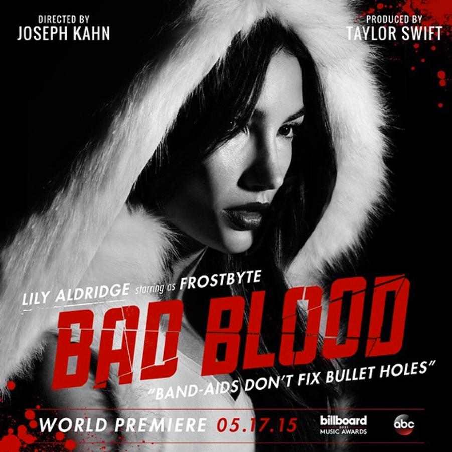 """Taylor Swift et son équipe de choc pour """"Bad Blood"""""""