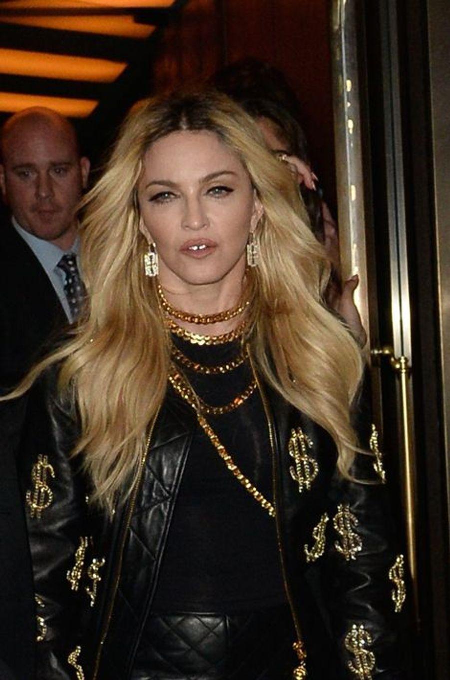 Madonna et Lourdes à New-York ce 4 mai
