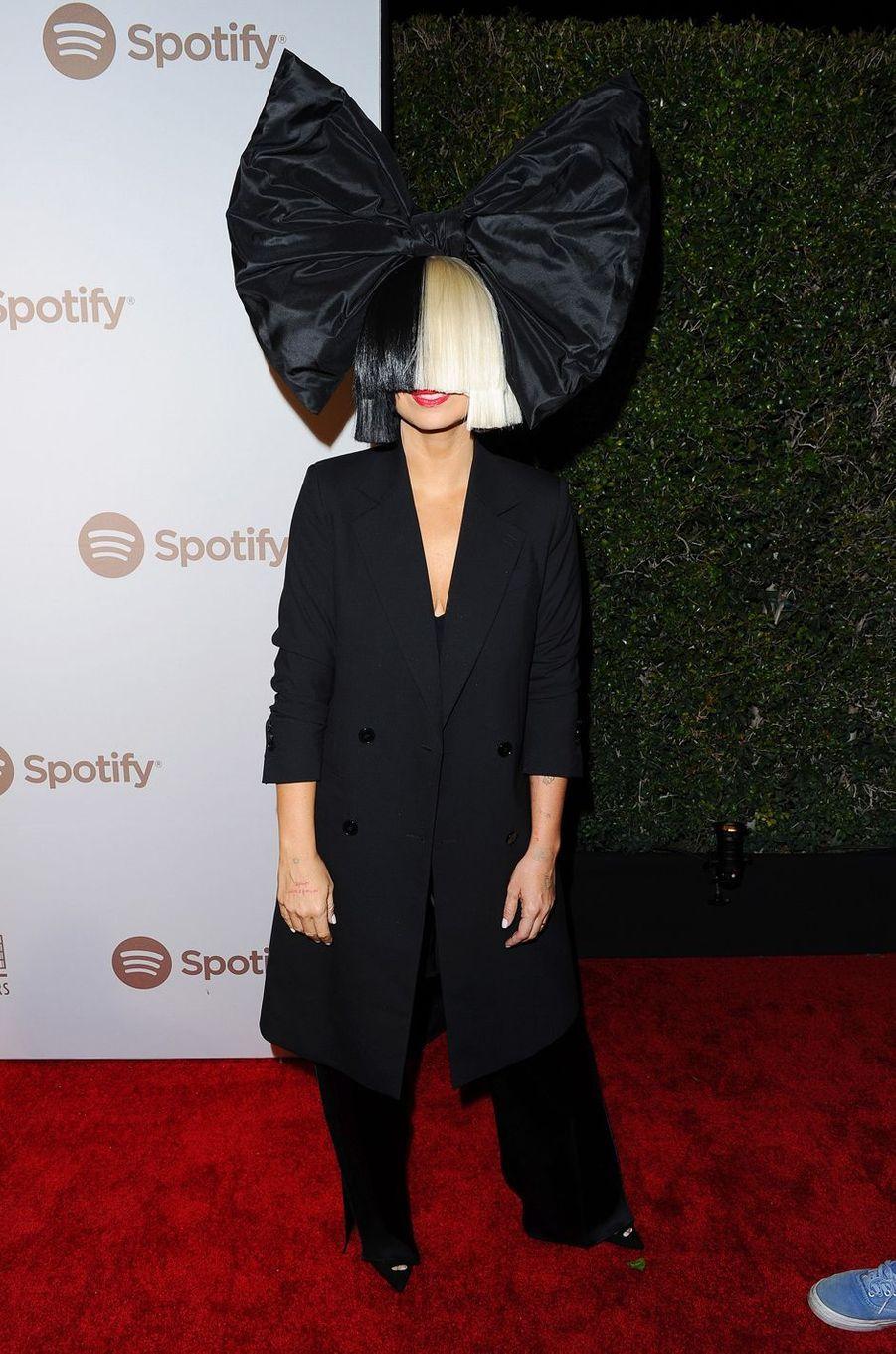 Sia à Los Angeles le 13 février 2016