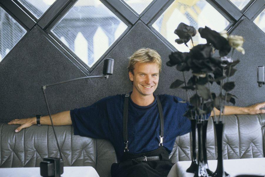 Sting au printemps 1985
