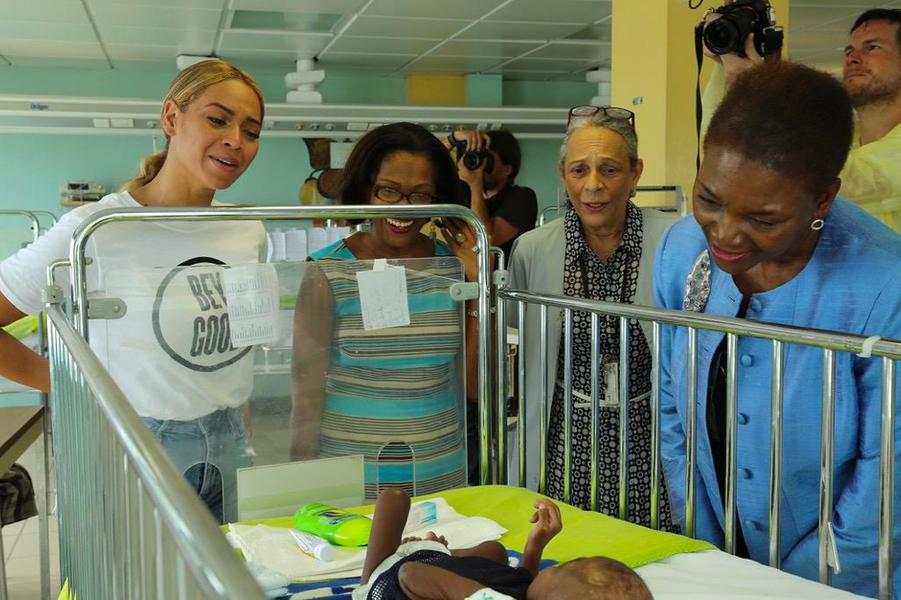 Beyoncé, ambassadrice engagée pour l'ONU en Haïti