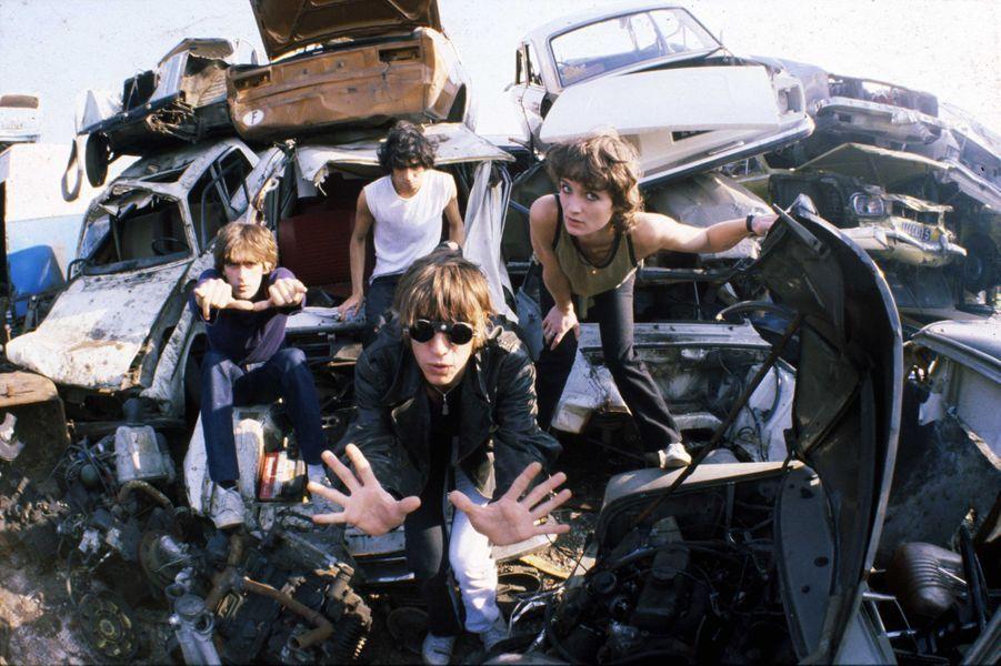 Le groupe Téléphoneen 1977