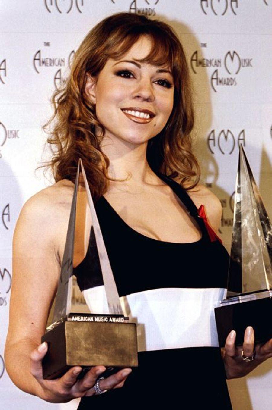 Mariah Carey grande gagnante des American Music Awards 1995